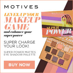 Image for (MC) New!  Super charge your look! Motives Cosmetics Super Power Mattes Eye Shadow Palette.  10 matte eye shadows.  $45.  New Customers save 25% w/code FIRST25OFF.  250x250