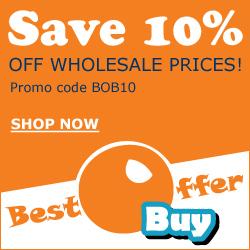 Save 10% Plus Free Shipping At BestOfferBuy!