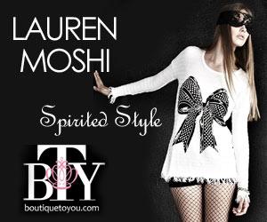 Boutique to You, Celebrity Fashion, Lauren Moshi
