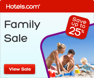 Hotels.com Canada: Family Sale: Make memories together. Save up to 25%! Book by 2/18, Travel by 3/11