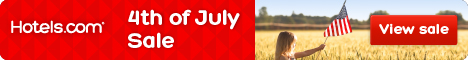 Hotels.com 4th of July Sale: Save up to 50%! Book by 7/4, Travel by 7/18