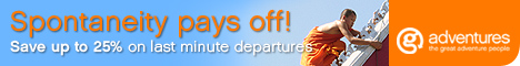 Save up to 25% G Adventures