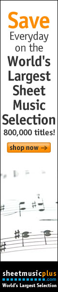 Sheet Music Plus 120 x 600 Generic