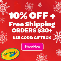 10% Off + Free Shipping on $30+ Order with GIFTBOX