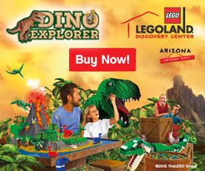 Dino Explorer at LEGOLAND Discovery Center Arizona