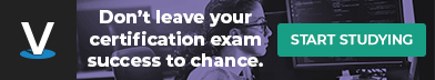 Don't leave your certification exam success to chance. Start Studying.