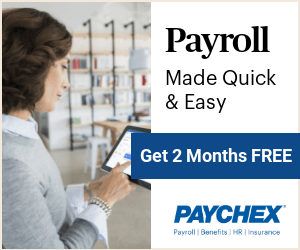 Get Two Months Free of Payroll Processing at Paychex