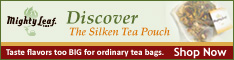 Discover the Silken Tea Pouch - Mighty Leaf Tea
