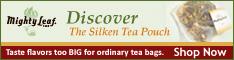 Discover the Silken Tea Pouch - Mighty Leaf Tea
