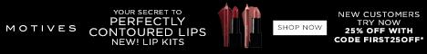 Motives Cosmetics - New Lip Kit Colors.