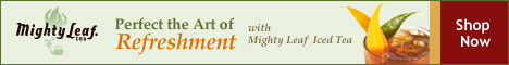 The Art of Refreshment with Mighty Leaf Iced Tea