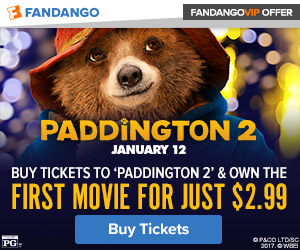 Buy tickets to 'Paddington 2' and own the first 'Paddington' for just $2.99!
