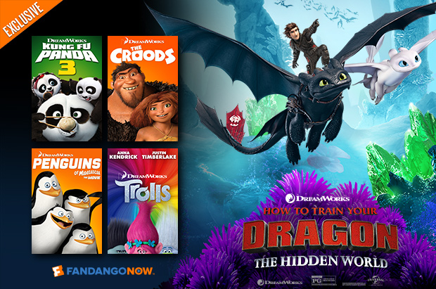 620 x 411 Fandango Exclusive - Early Access Tickets For 'How To Train Your Dragon: The Hidden World'