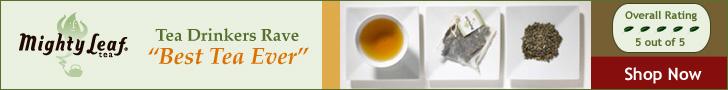 Tea Drinkers Rave Best Tea Ever Mighty Leaf Tea