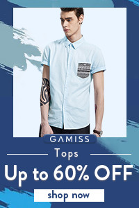 Up To 60 OFF For Men's Tops -- Fashion Every Day!
