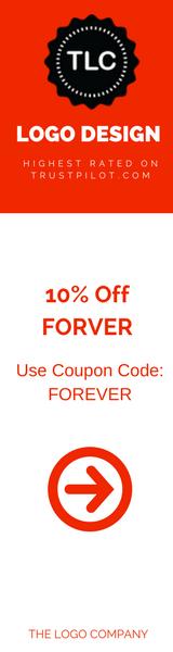 10% off logo design services FOREVER