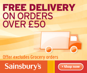 Sainsbury's + Free Delivery - 300x250