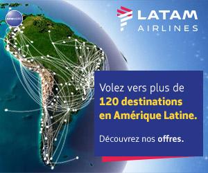 Tous les vols d'Amérique Latine