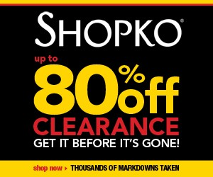 Shopko has up to 80% Off Hundreds of Clearance Items Today!!!