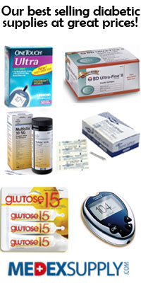 Diabetic Supplies at Great Prices!