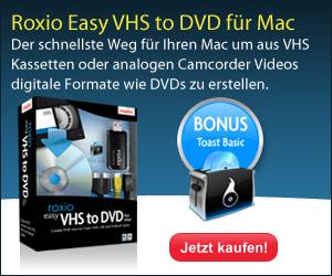 VHS to DVD für Mac