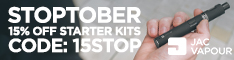 STOPTOBER: 15% off starter kits