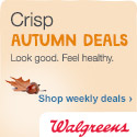 Save this Autumn with Deals from Walgreens