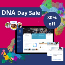 DNA Day Sale! Get up to 30% OFF!