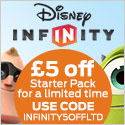 Get £5 off Disney Infinity at 2Game.com