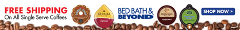 Bed Bath & Beyond - Free Shipping Coffee