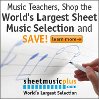 Music Teachers Save 8%!
