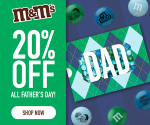 20% Off All Father's Day! Use Code DAD! Valid 6/6-6/14!