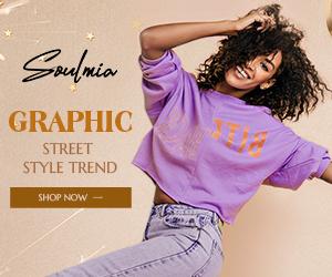 Soulmia Graphic Street Style Trend