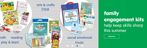 Help Keep Their Skills Sharp With Our Family Engagement Kits! Get Free Shipping On Orders $33 Or Mor
