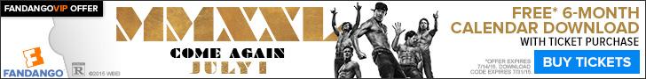 Magic Mike XXL Calendar Download