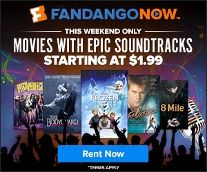 FandangoNOW - Movies that Rock and Starting at $1.99