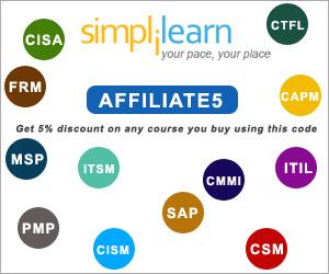 simplilearn discount coupon code
