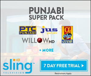 Stream Punjabi TV With Sling TV