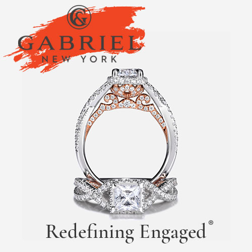 Gabriel & Co. fine jewelry. Luxury Engagement Rings. Diamond Wedding Rings. Diamond Engagement Rings.