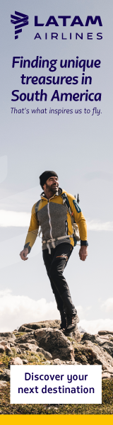 Fly to South America with LATAM Airlines