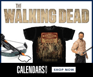 Shop Walking Dead at Calendars.com Now!