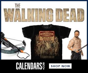 Shop Walking Dead at Calendars.com Now!