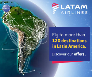 Fly to Lima with LATAM Airlines
