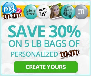 30% Off 5-lb Bulk M&M'S� Bags with code HIGHFIVE