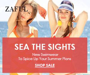 Zaful new swimwear deals