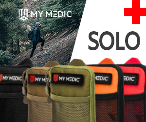 MyMedic's Solo! Best First Aid Kit for one person on the planet.