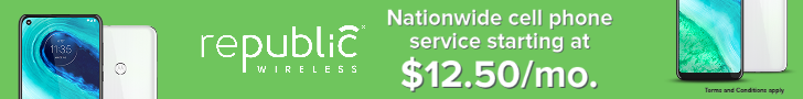 Republic Wireless plans start as low as $12.50/mo.