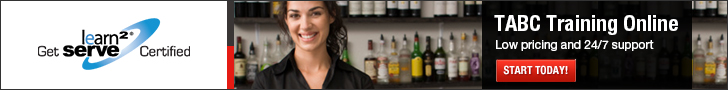 Learn2Serve TABC Alcohol Seller Certification Banners 728x90