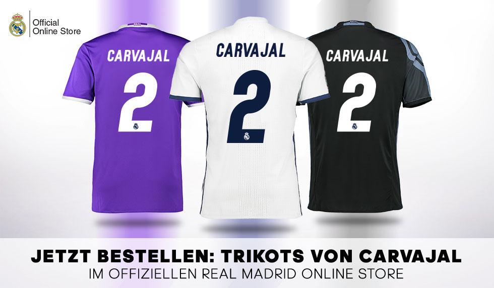 Trikot Original Real Madrid Dani Carvajal Adidas Offiziell