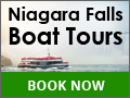 5 Star Rated Luxury Niagara Falls Boat Tours